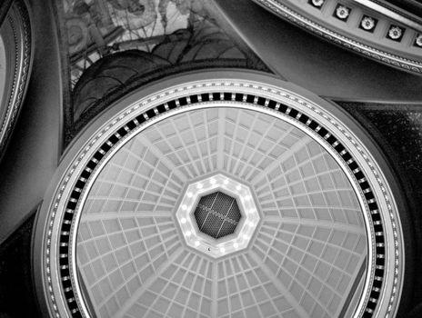 the dome of the victoria legislative building
