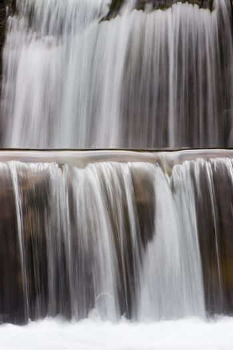 Detail of a waterfall - Gradas de Soaso - National park Ordesa y Monte perdido. With long exposure time.