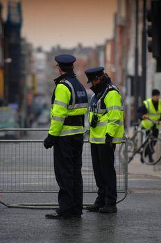 St Patrick's Day Dublin festivities