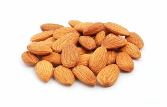 Heap of almond