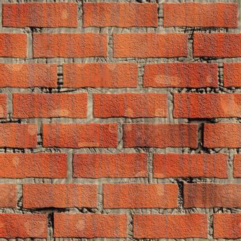 Realistic image of a masonry wall which by pasting can be made any size.