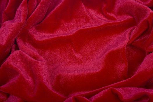 Elegant and soft red satin background