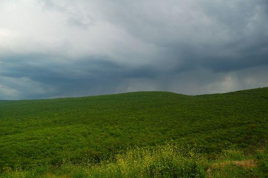 Imminent rain