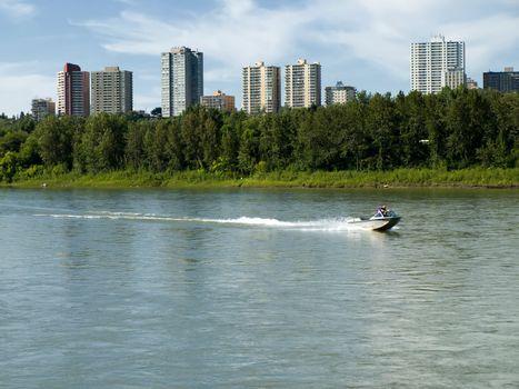 Urban River Boating