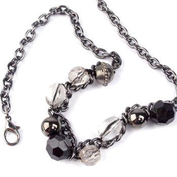 necklace closeup