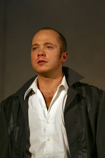 Eugeny Stychkin in performance `Display of love`