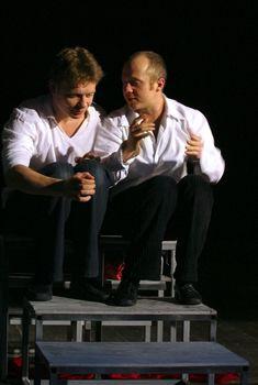 Eugeny Stychkin and Paul Majkov in performance `Display of love`