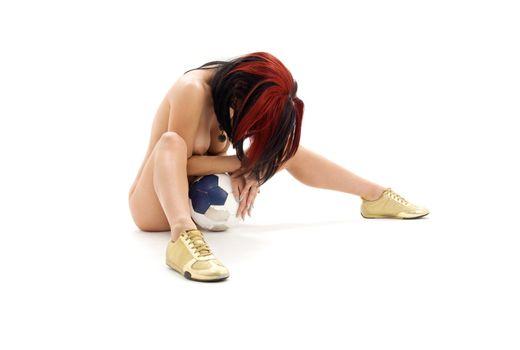 worn ball