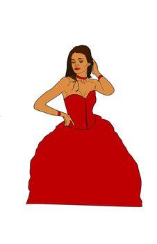 Prom Queen Posing