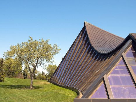 Curved Roof Rec Center