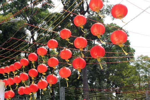 Festive balloons in Vietnam