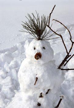 snowman is ready