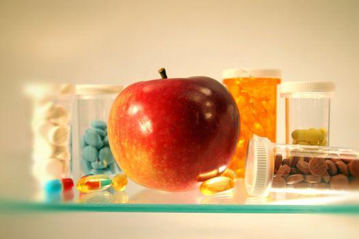 Drugs on the shelf