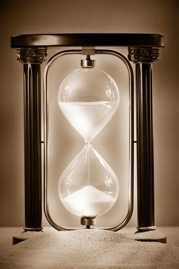 Sands of time / Sepia tone