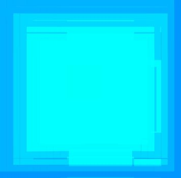 blue abstract fractal generated background