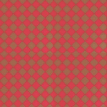 seamless tiling background with red squares on brown