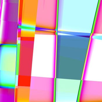 colorful abstract retro background in light colors