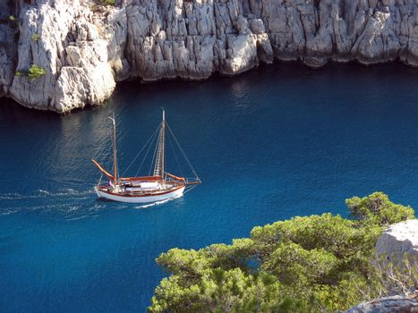Calanques of Marseille, France