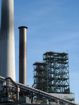 oil refinery, Lingen, Emsland, Germany, 2008