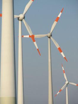Windmills, Emsland, northern Germany, 2007