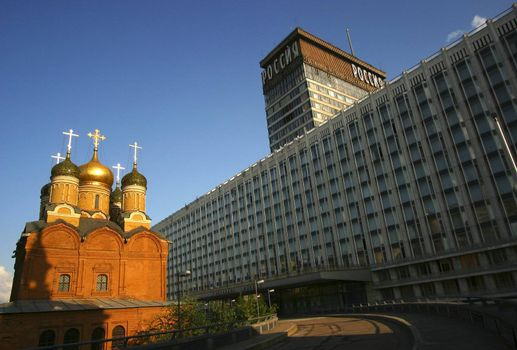 Hotel Russia in Moscow