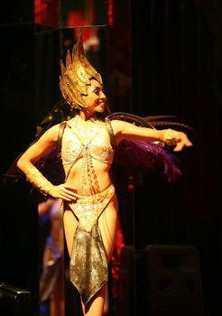 Variety show. Bali. Indonesia