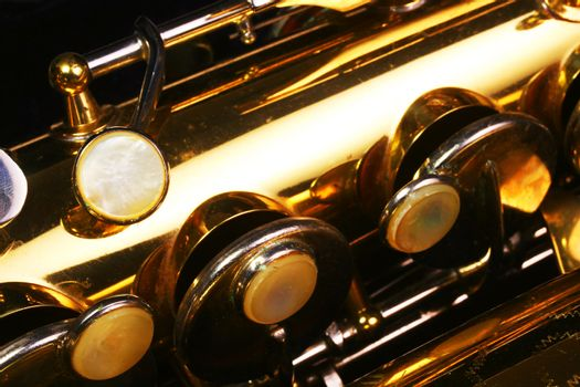 Old Saxophone macro