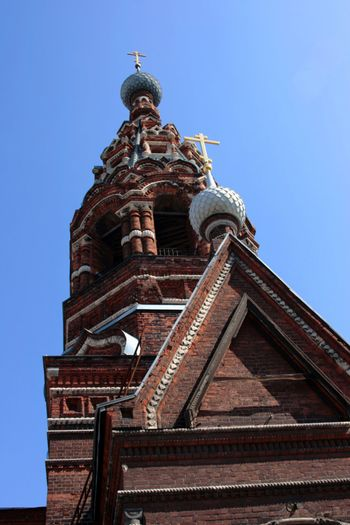 The oldest church of the city of Yaroslavl.