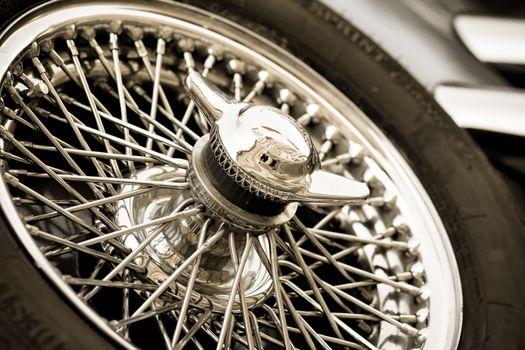 oldtimer backup wheel