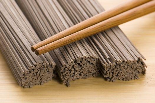 japanese pasta. soba