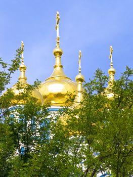golden cupola