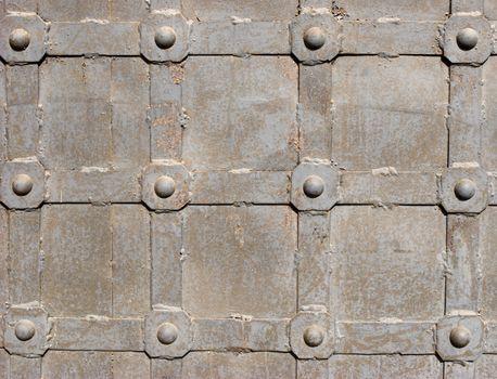Steel door detail