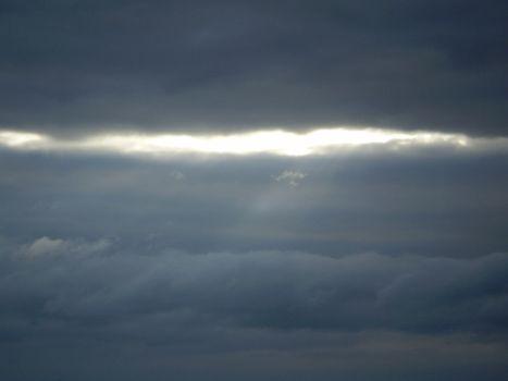 Gleam in the clouds