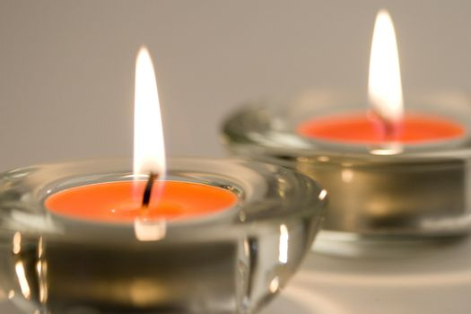 two candles