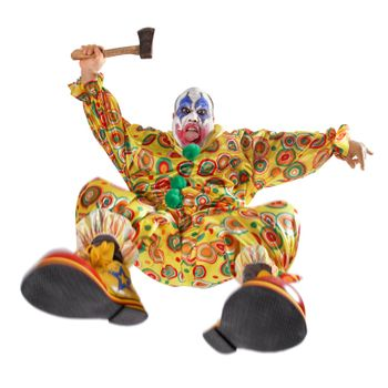 Attack of the evil clown