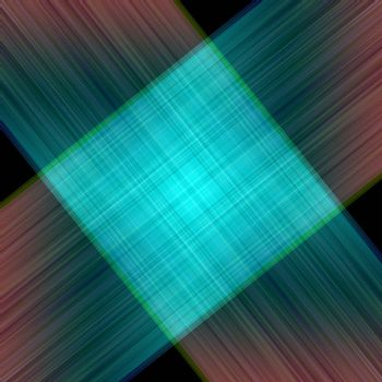 Abstract background of a line and squares. Colour lines