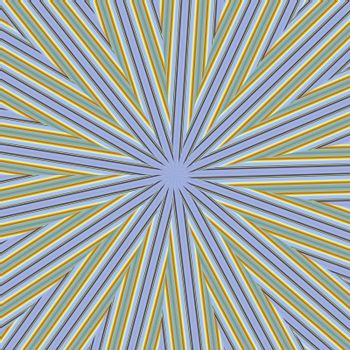 Abstract background dark blue and yellow lines. A star from lines.