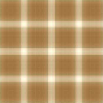 Classic tan and red plaid fabric textiles
