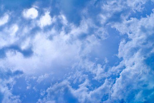 cloud is among sky