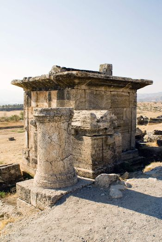 Necropolis of the ancient city of Hierapolis