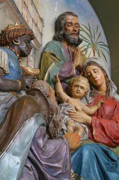 Nativity Scene, born of Jesus Christ