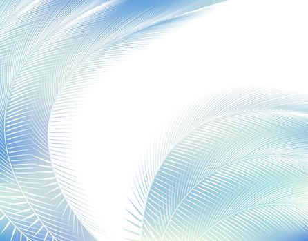 Feathered background