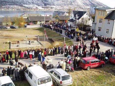 17. may parade in Tromsø, Tromso