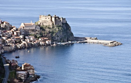 overview from a stretch of the Calabrian coast