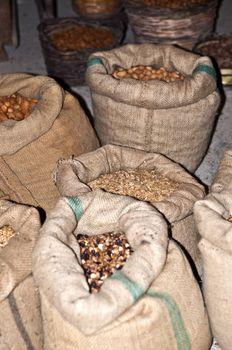 Sacks of grain to a live nativity scene in Sicily