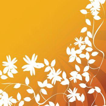 Flower and leaf prints