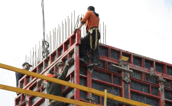 spider-mens at new construction