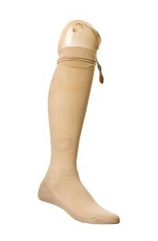 Old prosthetic leg