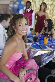 Teenage Girl at Prom