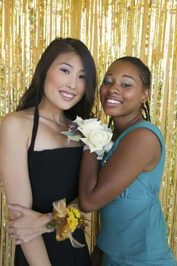 Two Friends at Social Dance